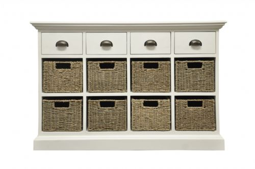 4 Drawer 8 Basket Unit
